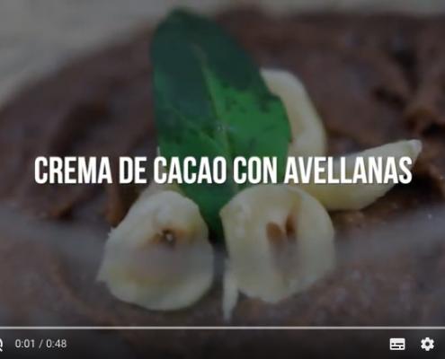 receta crema de cacao